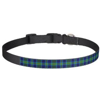 Clan Miller Tartan Pet Collar