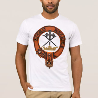 Clan moffat Family Crest and Targe T-Shirt