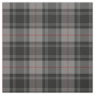 Red And Black Plaid Fabric Zazzle