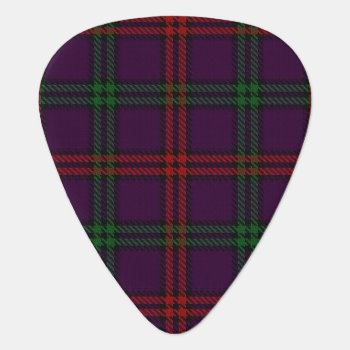 Clan Montgomery Sounds Of Scotland Tartan Guitar Pick by OldScottishMountain at Zazzle