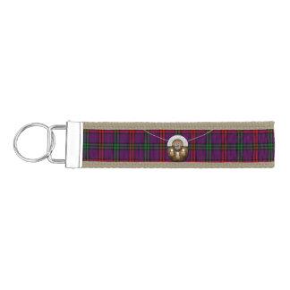Clan Montgomery Tartan And Sporran Wrist Keychain