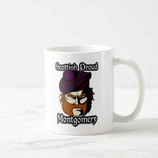 Clan Montgomery Tartan Scottish Classic White Coffee Mug