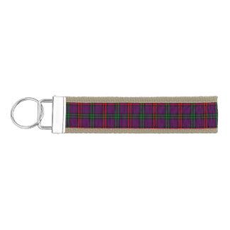 Clan Montgomery Tartan Wrist Keychain