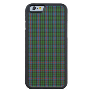 Clan Morrison Tartan Carved® Maple iPhone 6 Bumper Case