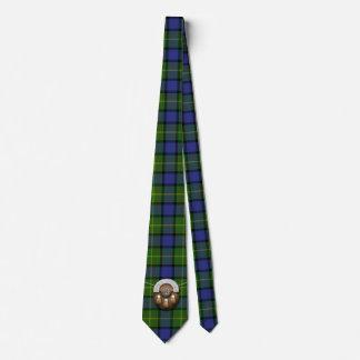 Clan Muir Tartan And Sporran Tie