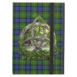 Clan Muir Tartan Celtic Trinity Cover For iPad Air