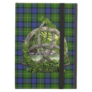 Clan Muir Tartan Celtic Trinity iPad Cases