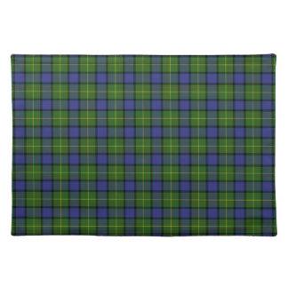 Clan Muir Tartan Cloth Placemat
