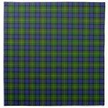 Clan Muir Tartan Printed Napkins
