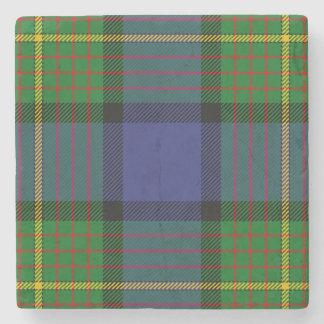 Clan Muir Tartan Stone Coaster