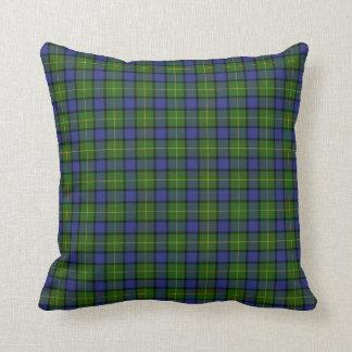 Clan Muir Tartan Throw Pillow