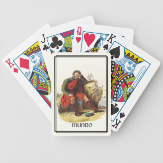Clan Munro Classic Scotland Bicycle Deck Bicycle Playing Cards