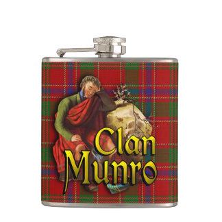 Clan Munro Old Scotland Flask