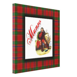 Clan Munro Scottish Dream Canvas Print