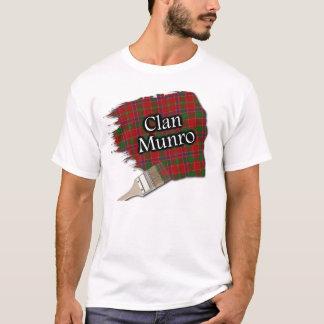 Clan Munro Scottish Tartan Paint Shirt