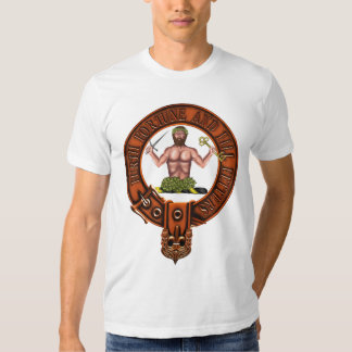 Clan Murray Family Crest and Targe T Shirt