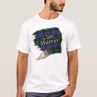 Clan Murray Scottish Tartan Paint Shirt