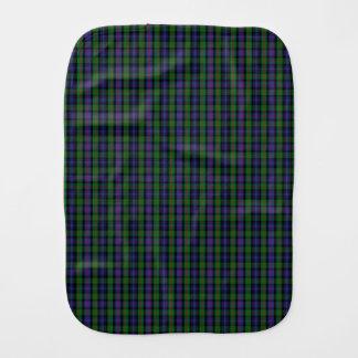 Clan Murray Tartan Baby Burp Cloth