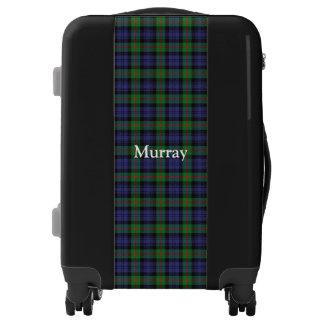 Clan Murray Tartan Customize Your Name Luggage