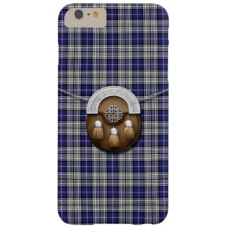 Clan Napier Tartan And Sporran Barely There iPhone 6 Plus Case