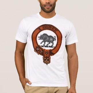 Clan Nesbitt Family Crest and Targe T-Shirt