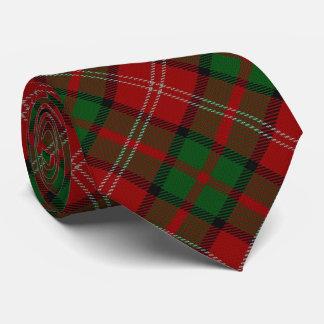 Clan Nisbet Nesbitt Letter N Monogram Tartan Tie