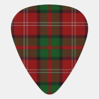 Clan Nisbet Nesbitt Sounds Of Scotland Tartan Guitar Pick by OldScottishMountain at Zazzle