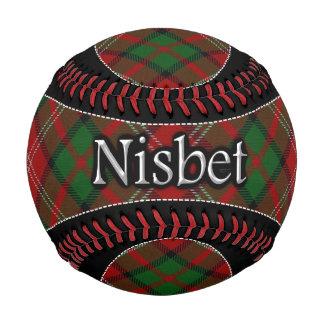 Clan Nisbet Scottish Dream Tartan Baseball