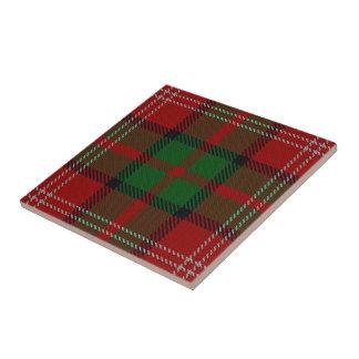 Clan Nisbet Scottish Expressions Tartan Tile
