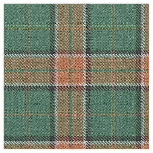 Clan Pollock Scottish Tartan Plaid Fabric Zazzle Com
