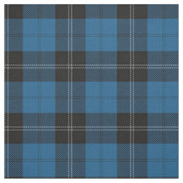 Clan Ramsay Ramsey Blue Hunting Tartan Fabric
