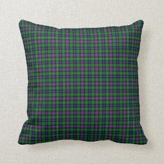 Clan Rankine Tartan Throw Pillow