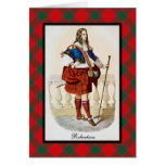 Clan Robertson Scottish Dreams Card