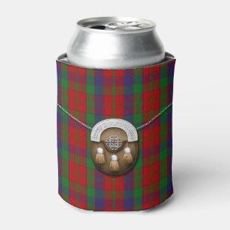 Clan Robertson Tartan And Sporran Can Cooler