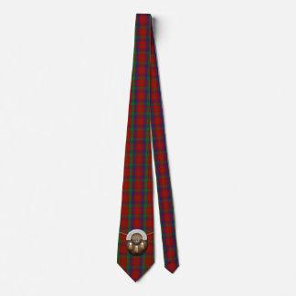 Clan Robertson Tartan And Sporran Tie