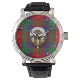 Clan Robertson Tartan And Sporran Wrist Watches