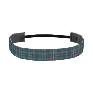 Clan Robertson Tartan Plaid Head Band