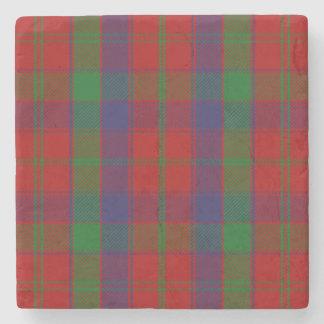 Clan Robertson Tartan Stone Coaster