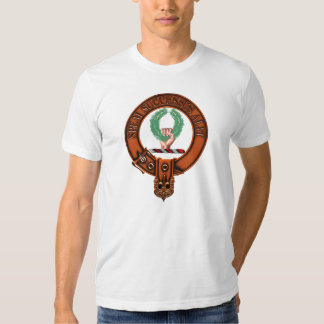 Clan Ross Family Crest and Targe Tee Shirt