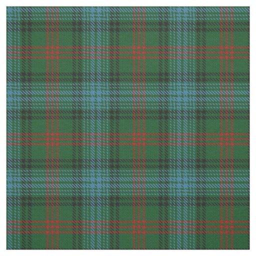 Clan Ross Hunting Scottish Tartan Plaid Fabric Zazzle Com
