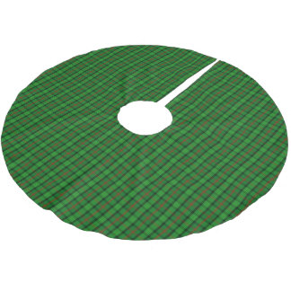 Clan Ross Tartan Brushed Polyester Tree Skirt