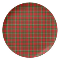 Clan Scott Tartan Plate