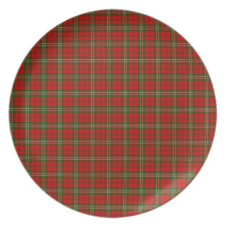 Clan Scott Tartan Party Plate