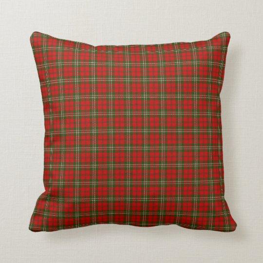 Clan Scott Tartan Throw Pillow