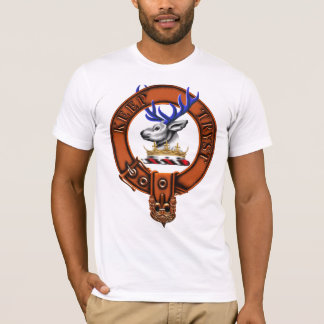 Clan Semphill Family Crest and Targe T-Shirt