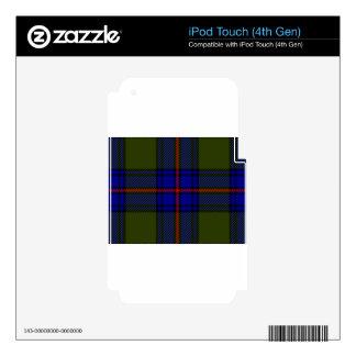 Clan Shaw del tartán Calcomanías Para iPod Touch 4G