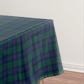 Clan Shaw Green and Royal Blue Scottish Tartan Tablecloth