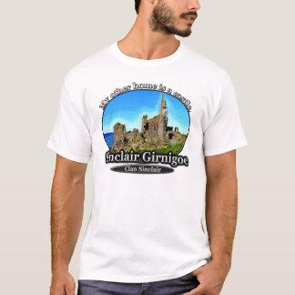 Clan Sinclair Castle Sinclair Girnigoe Scotland T-Shirt