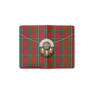 Clan Sinclair Tartan And Sporran Pocket Moleskine Notebook