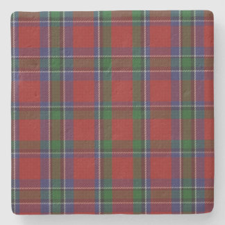 Clan Sinclair Tartan Plaid Stone Coaster